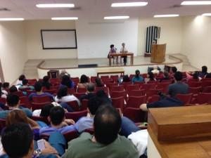 conférence à la Faculté de Médecine